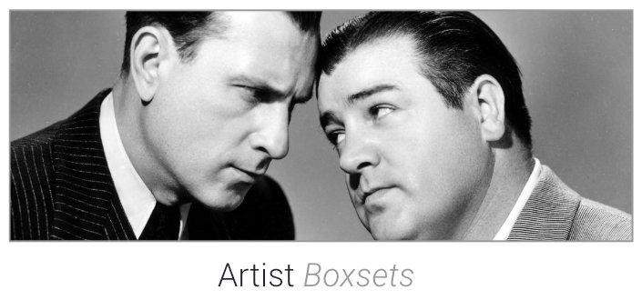 Artist Boxsets on DVD & Blu-Ray