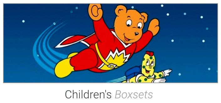 Childrens Boxsets on DVD & Blu-Ray