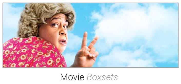 Movie Boxsets on DVD & Blu-Ray