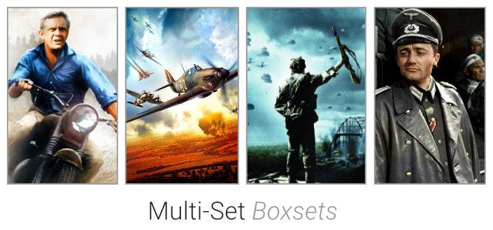 Multi Sets on DVD & Blu-Ray