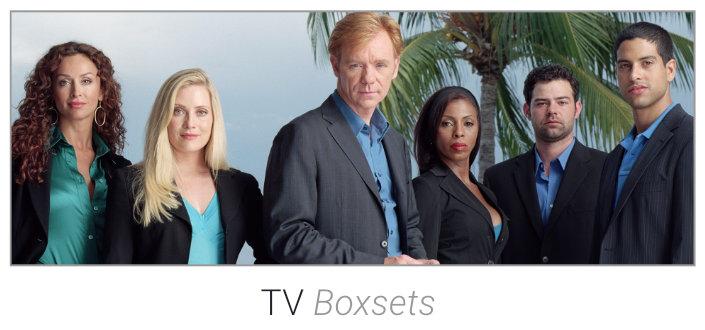 TV Boxsets on DVD & Blu-Ray