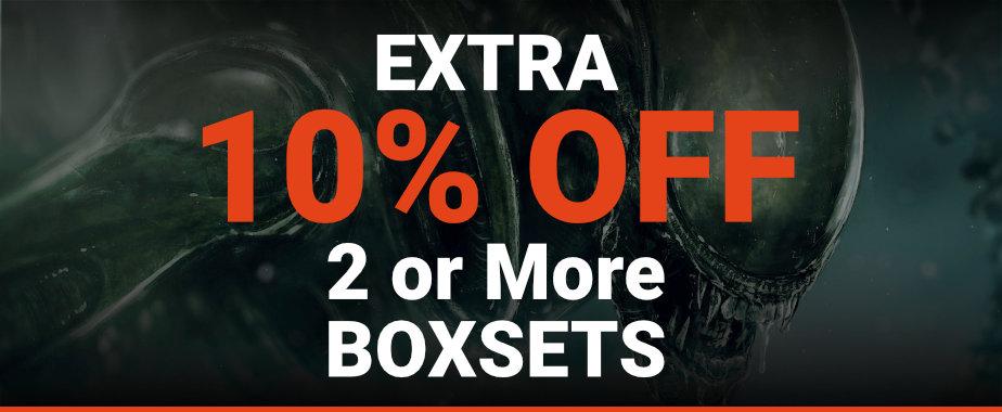 10% Off 2 or more Boxset's