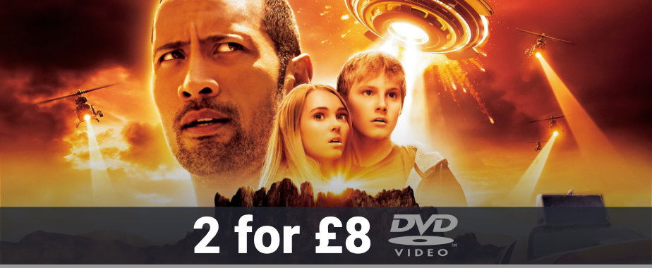 DVD 2 for £8