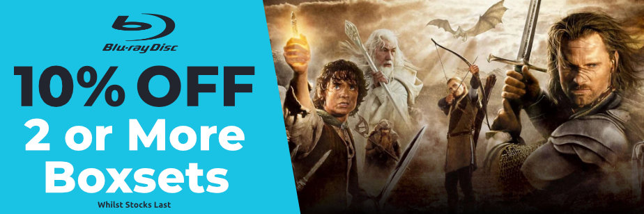 10% Off 2 or More Blu-Ray Boxsets