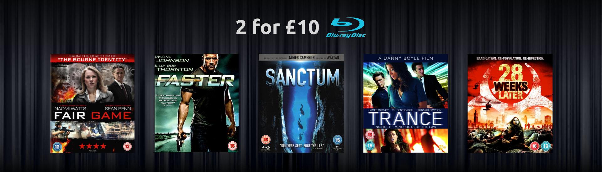 2 for £10 Thriller
