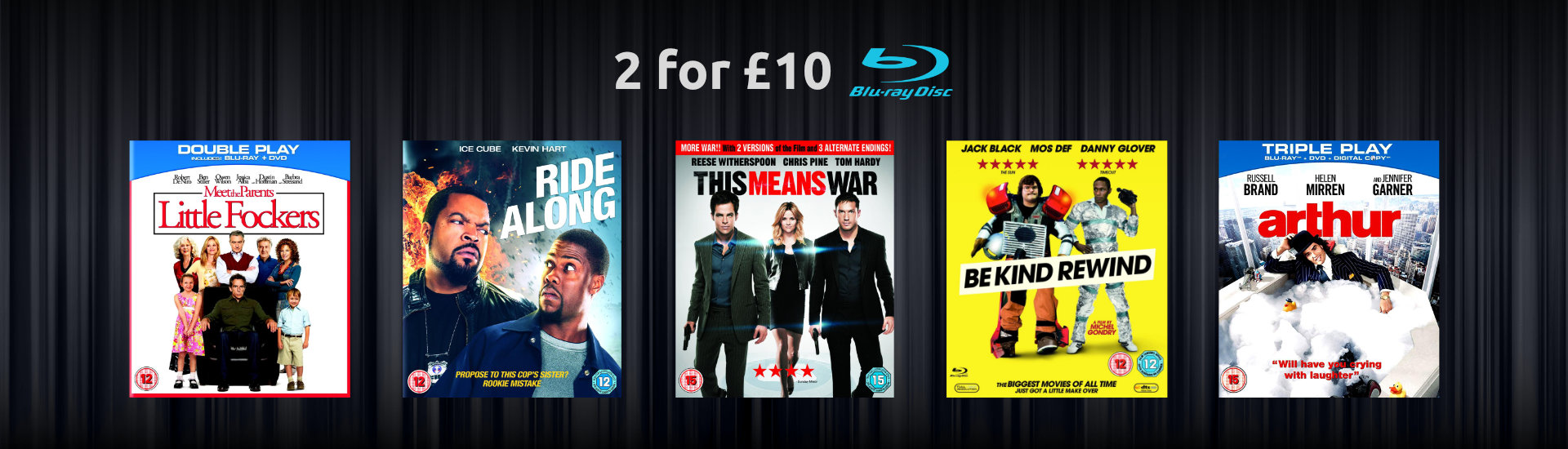 2 for £10 Comedy