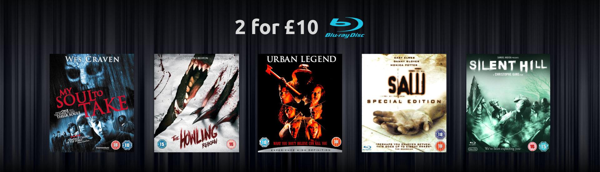 2 for £10 Horror