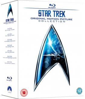 Star Trek 1 to 6 The Original Crew Movie Collection (6 Films) Blu-Ray