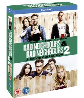 Bad Neighbours / Bad Neighbours 2 Blu-Ray