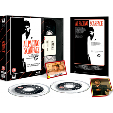 Scarface - Limited Edition VHS Collection DVD + Blu-Ray