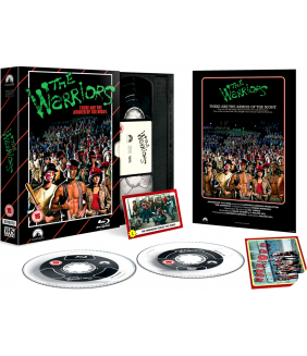 The Warriors - Limited Edition VHS Collection DVD + Blu-Ray
