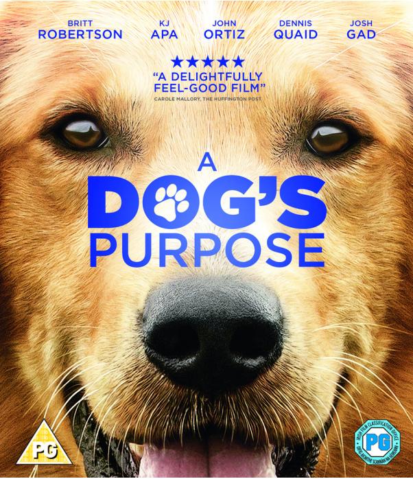 A Dogs Purpose Blu-Ray