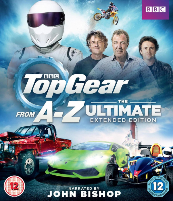 Top Gear - A to Z The Ultimate Extended Edition Blu-Ray
