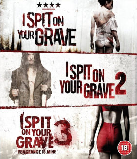 I Spit On Your Grave Trilogy (3 Fims) Blu-Ray