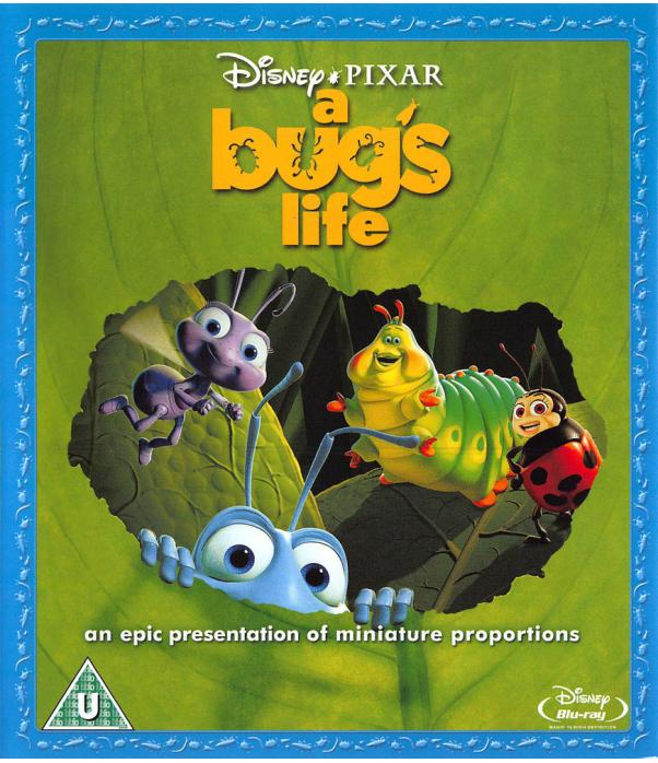 A Bugs Life Blu-Ray