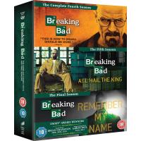 Breaking Bad Seasons 4 to 6 - Final Seasons Box Set DVD
