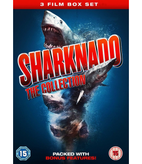 Sharknado 1 to 3 Movie Collection DVD