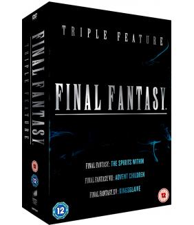 Final Fantasy - The Spirits Within / VII Advent Children / XV - Kingsglaive DVD