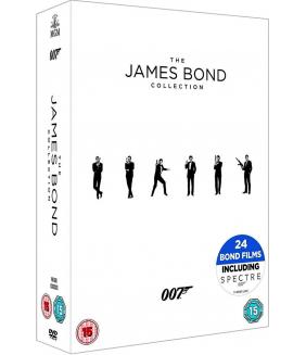 007 James Bond Complete Collection (24 Films) DVD