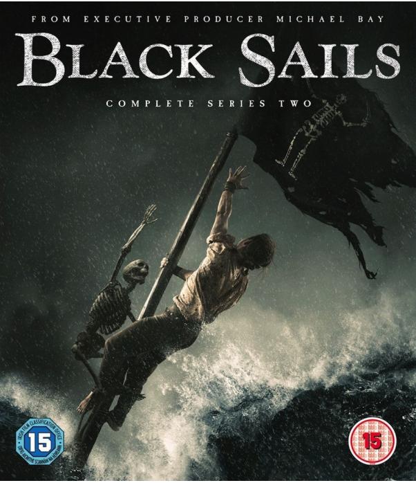 Black Sails Season 2 Blu-Ray