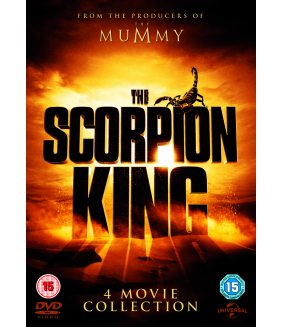 The Scorpion King 1 to 4 Complete Movie Quadrilogy (4 Films) DVD