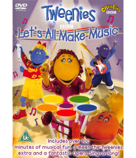 Tweenies - Lets All Make Music DVD