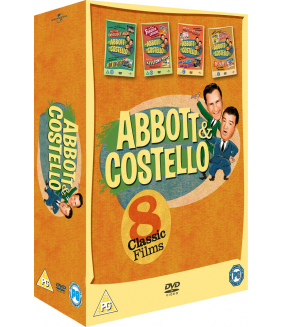 The Best Of Abbott And Costello (8 Films) Collection DVD