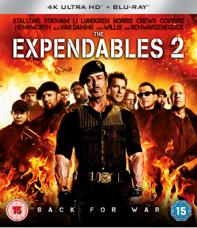 The Expendables 2 4K Ultra HD + Blu-Ray
