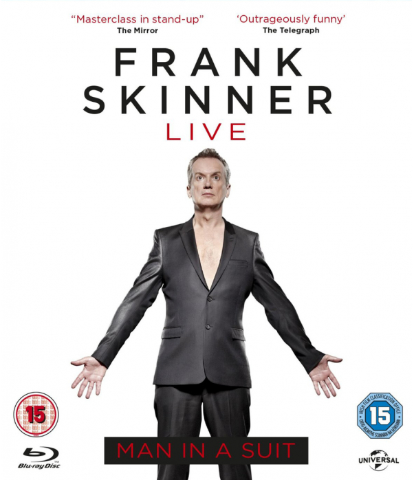 Frank Skinner Live - Man In A Suit Blu-Ray