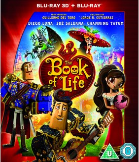 The Book Of Life 3D+2D Blu-Ray