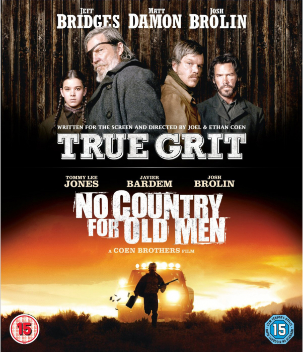 Coen Brothers - True Grit / No Country For Old Men Blu-Ray