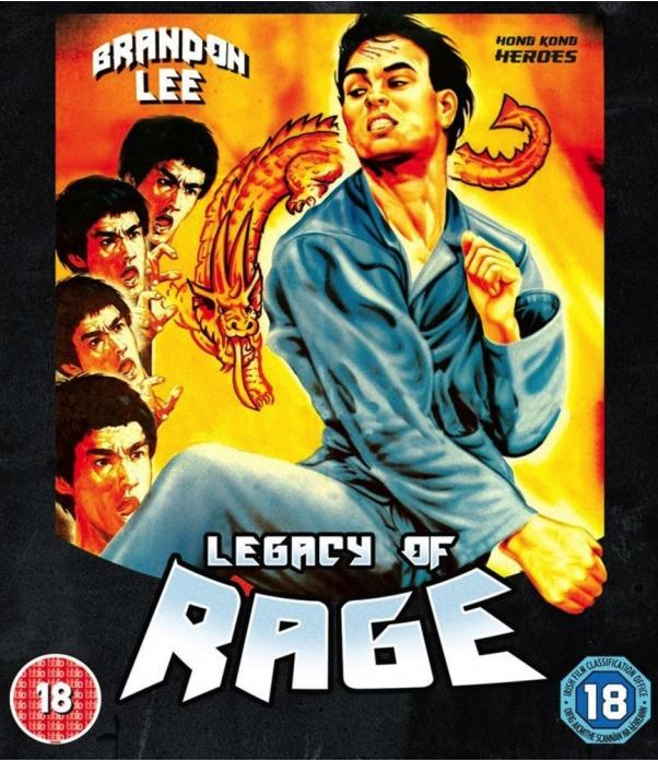 Legacy Of Rage Blu-Ray + DVD