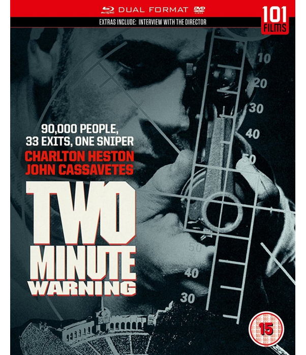 Two Minute Warning Blu-Ray + DVD