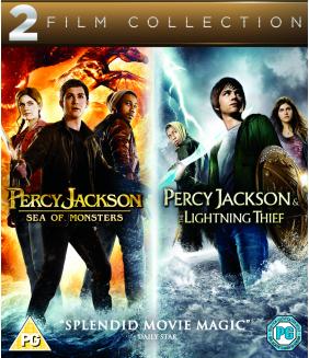 Percy Jackson - Sea Of Monsters / Percy Jackson & The Lightning Thief Blu-Ray