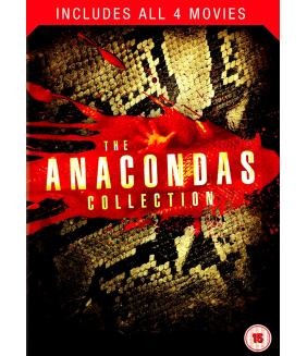 The Anacondas (4 Films) Collection DVD
