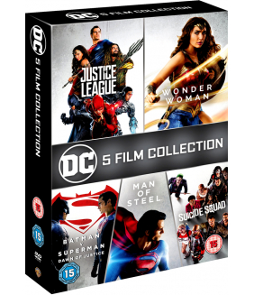 DC 5 Movie Collection DVD