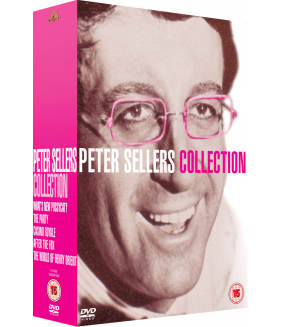 Peter Sellers - What's New Pussycat / The Party / Casino Royale / After The Fox / World Of Henry Orient / Pink Panther DVD