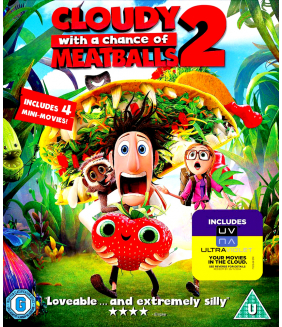 Cloudy With A Chance Of Meatballs 2 3D+2D Blu-Ray