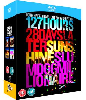 127 Hours / 28 Days Later / Sunshine / Slumdog Millionaire Blu-Ray