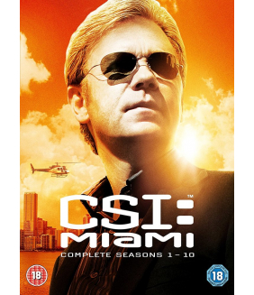 CSI Miami Seasons 1 to 10 Complete Collection DVD