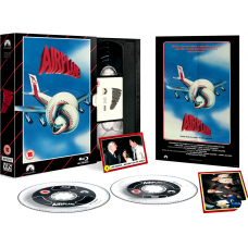Aiplane! - Limited Edition VHS Collection DVD + Blu-Ray