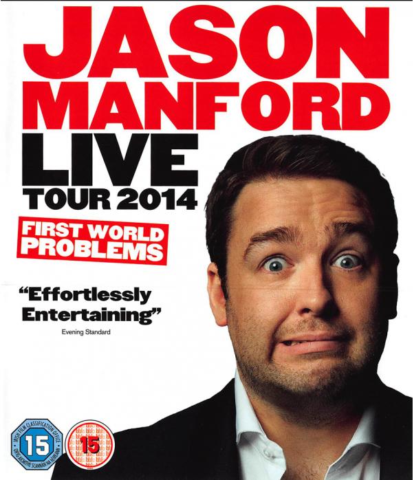 Jason Manford - Live Tour 2014 - First World Problems Blu-Ray