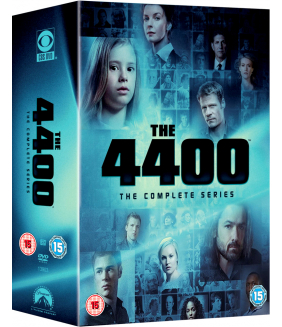 4400 Seasons 1 to 4 Complete Collection DVD