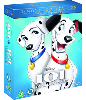 101 Dalmatians / 101 Dalmatians II - Patchs London Adventure Blu-Ray