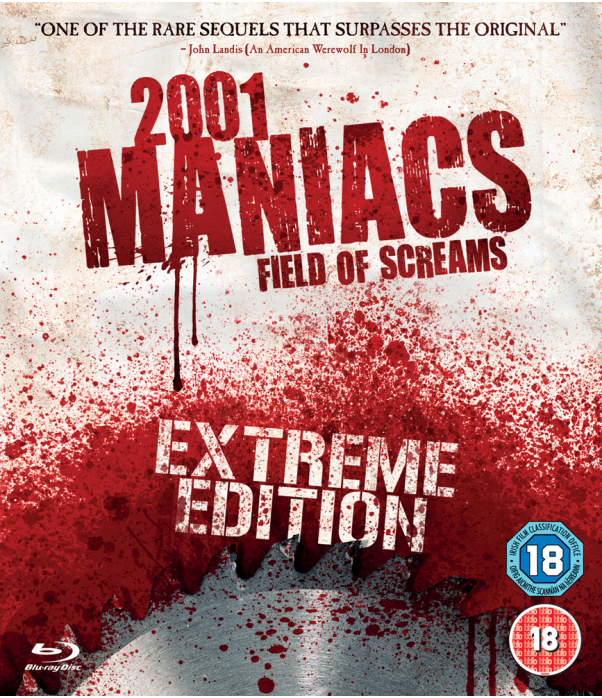 2001 Maniacs Field Of Screams - Extreme Edition Blu-Ray