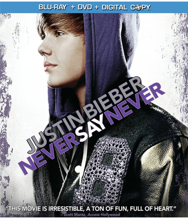 Justin Bieber - Never Say Never Blu-Ray + DVD