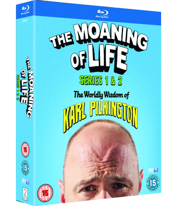 The Moaning Of Life Series 1 to 2 Blu-Ray