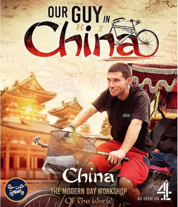 Guy Martin - Our Guy In China Blu-Ray