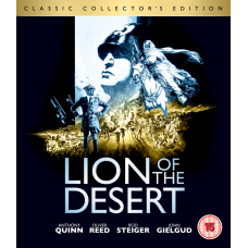 Lion Of The Desert - Collectors Edition Blu-Ray