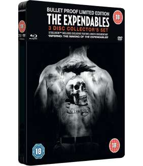 The Expendables Steelbook DVD + Blu-Ray